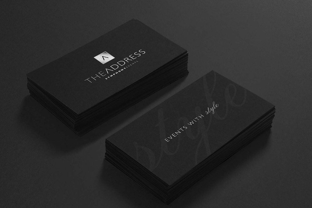 Address-Business-Cards The Address Hotels + Resorts