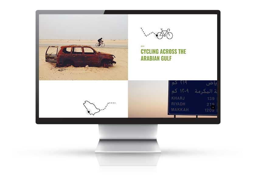 website showing philanthropist achievements dubai