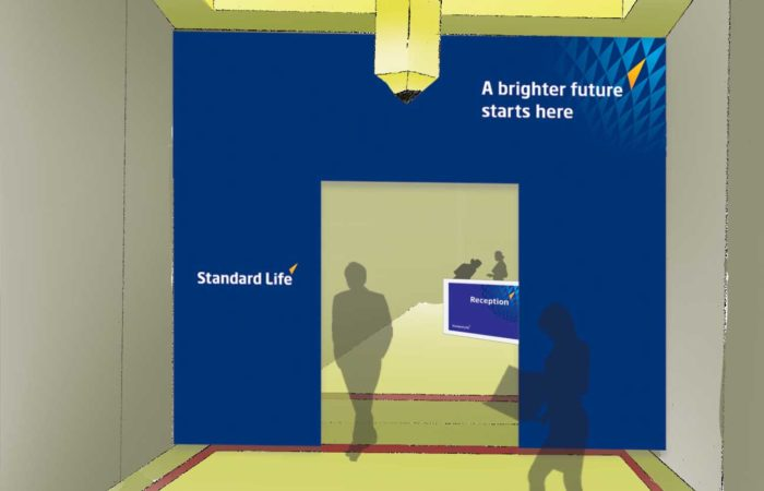 Standard Life - Fred - Dubai - insurance company launch event