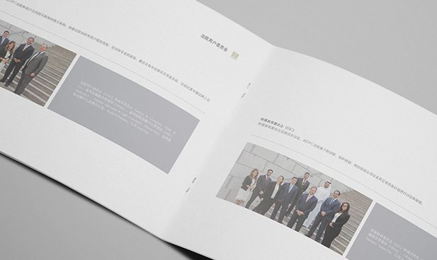 image of chinese annual report design for difc courts