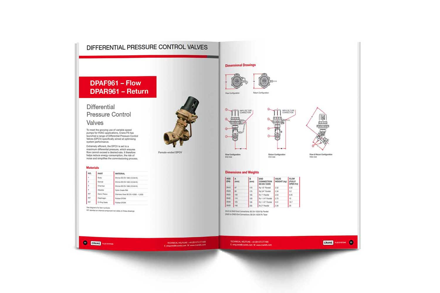image of engineering product catalogue brochure redesign dubai