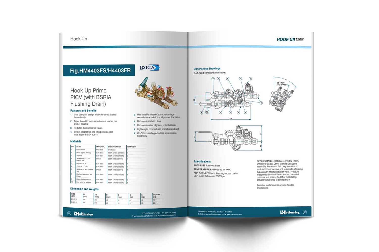 image of hattersley brochure product page redesign dubai